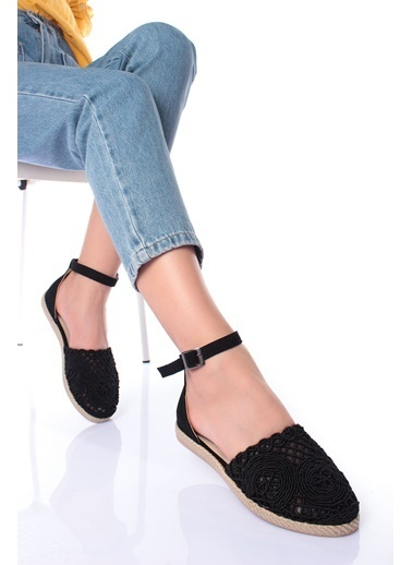 MODAGON Sandalet Siyah